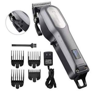 BESTBOMG Rechargeable Cordless Hair Cutting Kit: