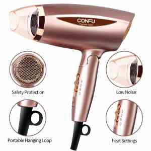 CONFU 1875W Fast Drying Hair Dryer