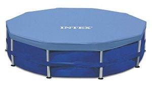 Intex 15-Foot Round Metal Frame Pool Cover
