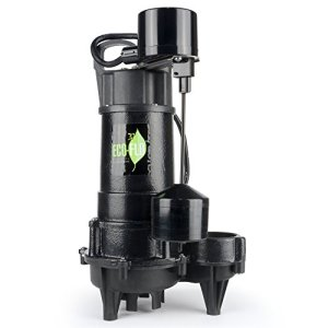 ECO-FLO Products ECD75V Products ECD75V 3/4-Inch HP Submersible Sump Pump