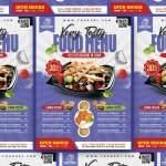 Free Restaurant Food Menu Flyer Template Psd