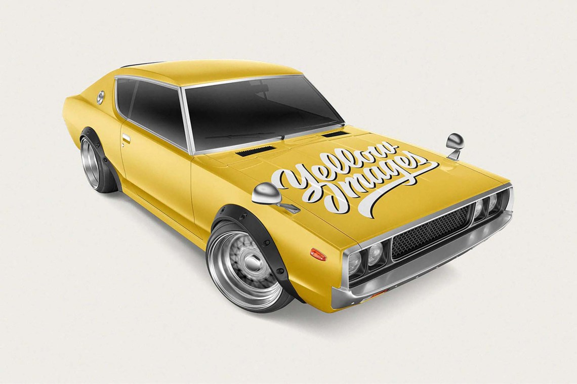 Download Photoshop Mockup Car Yellowimages
