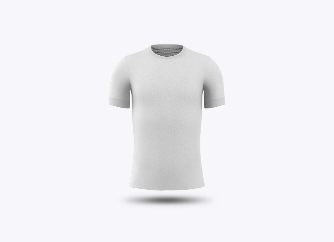 Download View Mens Crew Neck Soccer Jersey Mockup Front View Of ...