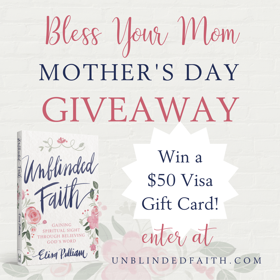 Enter the Mother's Day Giveaway
