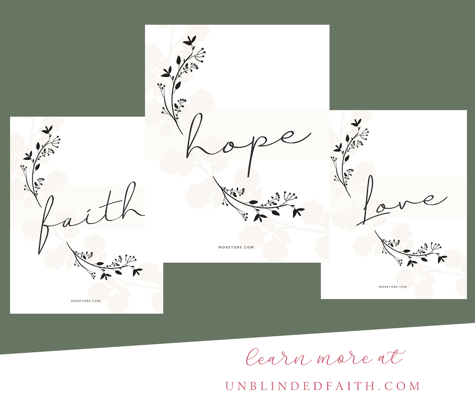 Give the Gift of Faith Print Set 4