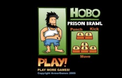 Hobo Prison Brawl Game