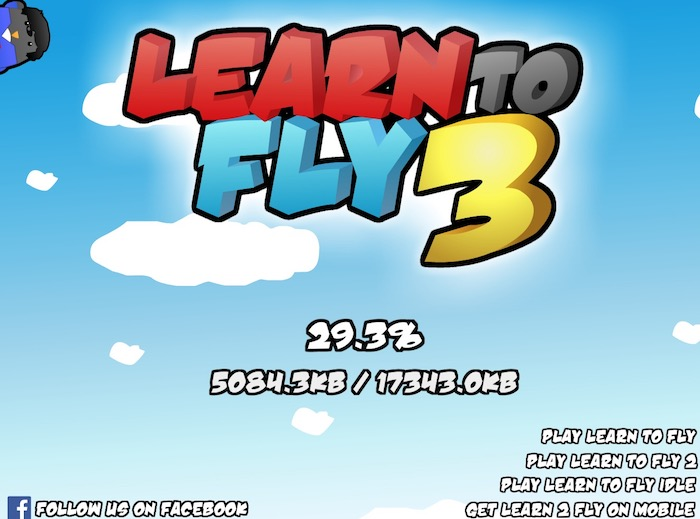 learn to fly 3 unblocked games