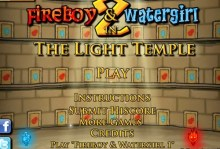 Fireboy and Water Girl 2 in The Light Temple