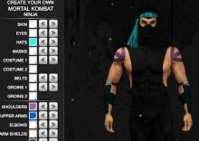 Mortal Combat Ninja (Design your own)