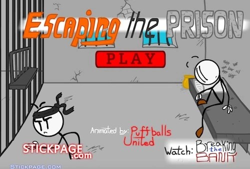 Escaping The Prison Stickman Unblocked Games