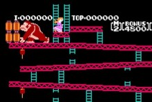 Donkey Kong Classic Version (NES)