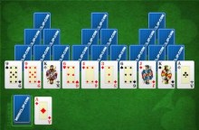 TriPeaks Solitaire by MiniClip