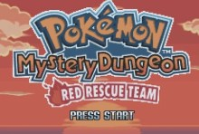 Pokemon Mystery Dungeon Red Rescue Team (GBA)