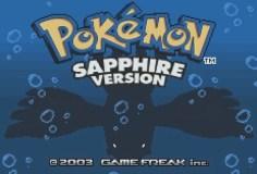 Pokemon: Sapphire Version (GBA)