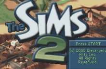 The SIMS 2 (GBA)