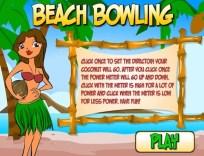 Beach Bowling