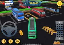 Bus-Man Parking 3D 2