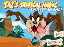 Taz's Tropical Havoc: Twister Island Hacked
