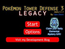 Pokemon Tower Defense 3 Legacy