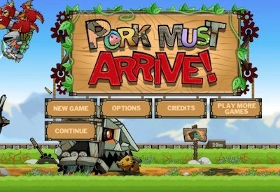 Pork Must Arrive