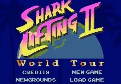 shark lifting