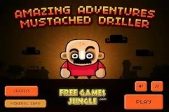 Amazing Adventures Mustached Driller