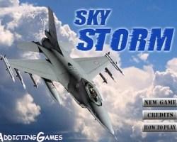 sky storm