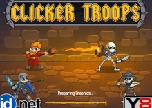 Clicker Troops