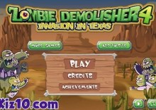 Zombie Demolisher 4: Invasion In Texas