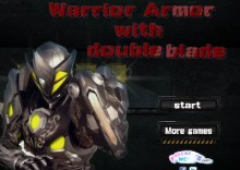 Warrior Armor With Double Blade