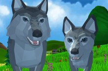 Wolf Simulator Wild Animals 3-D