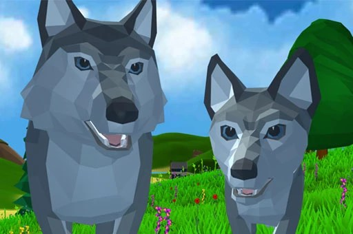 Wolf Simulator Wild Animals 3-D