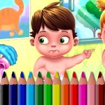 BTS Baby Coloring Book