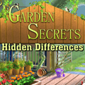 Garden Secrets Find the Differences