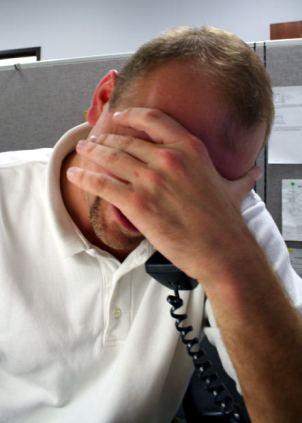stressed caller