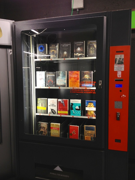 Book Vending Machine in Milano