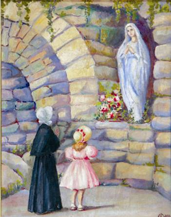 Elizabeth ann Seton grotto