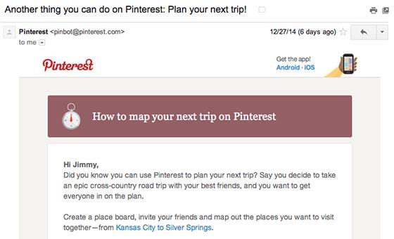 Pinterest Retention Email-560