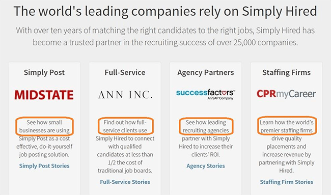 Simply hired case studies