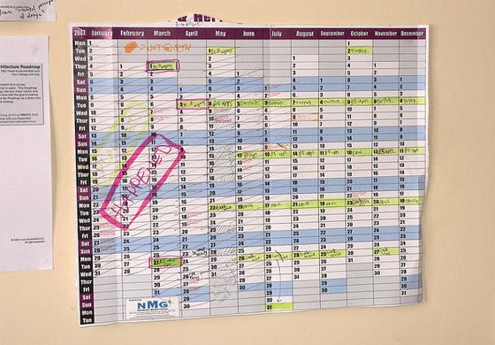 Keep your editorial calendar updated