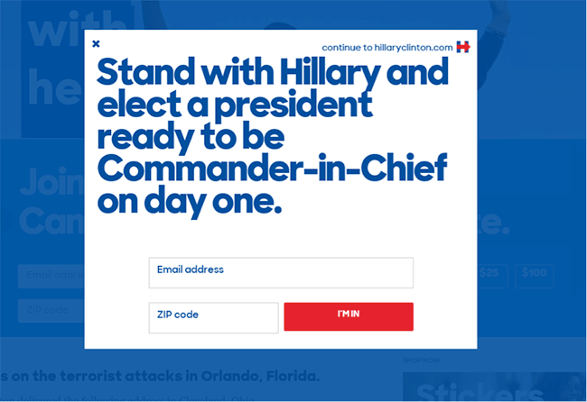 hilary-clinton-join-mailing-list-presidential-marketing-campaign