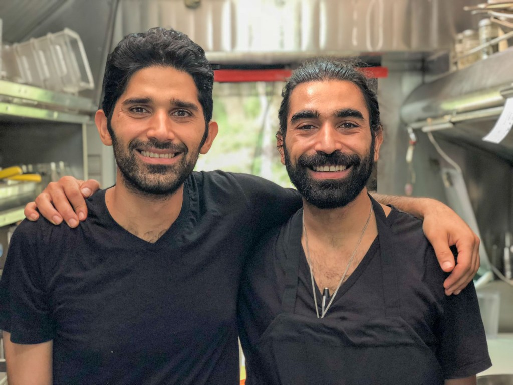 Raad and Raed Mansour, owners of ATX Food Company on Barton Springs Road, Austin, TX