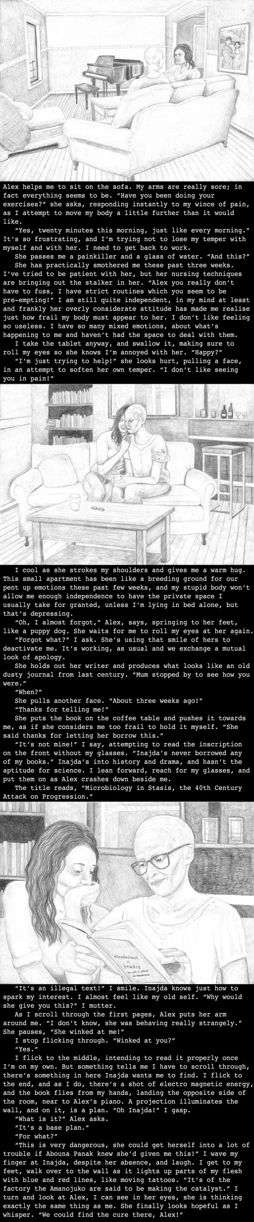 Katherine's backstory set in Saskatoon military base, India (3990)