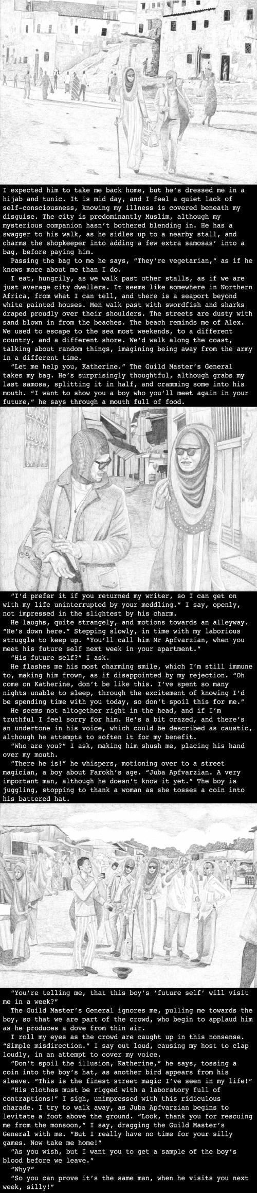 Katherines backstory set in Mogadishu, Somalia, (3990)