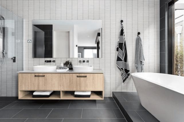 bathroom6 - Create a Minimalistic Bathroom Theme with Smart Accessories