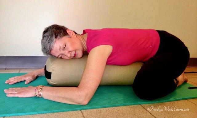 fullsizeoutput 7f57 - Restorative Yoga—Supported Child's Pose