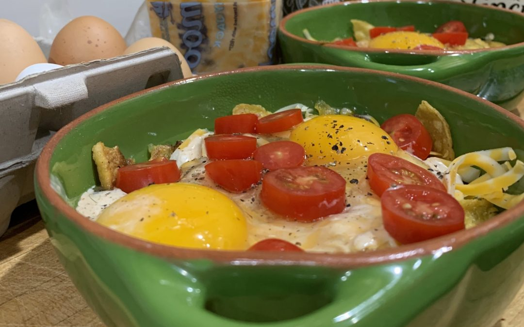 Chiboi's Mexican Baked Eggs