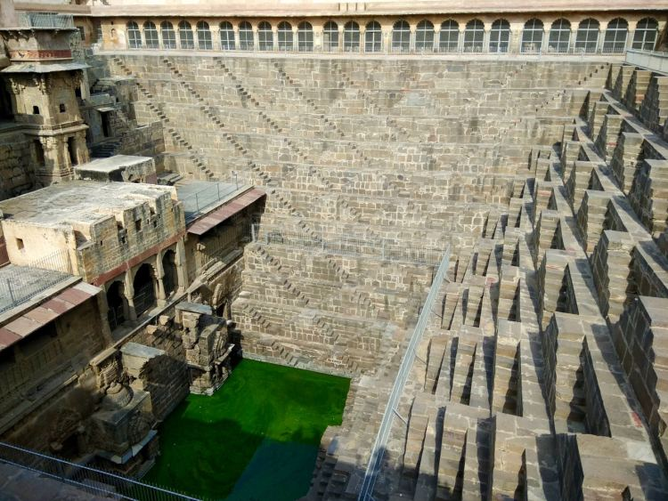 Abhaneri Chand Baori view Jaipur Things to do