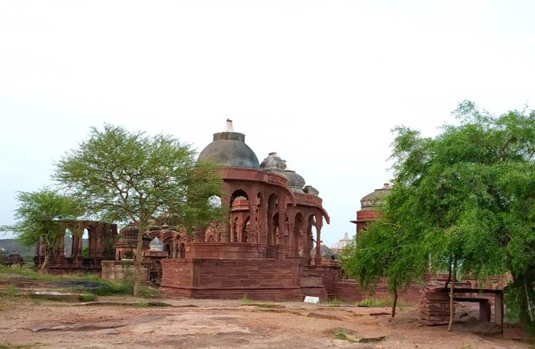 Mandore Panchkunda Cenotaphs Chattris Jodhpur things to do