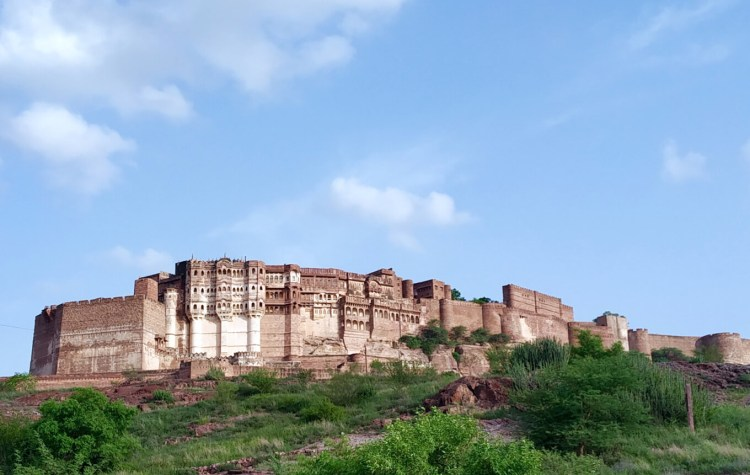 Rao Jodha Desert Park Mehrangarh Fort View Jodhpur things to do